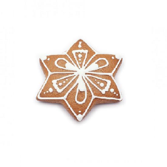 """Formelė sausainiams """"Dovydo žvaigždė"""", Ø 6,3 cm"""