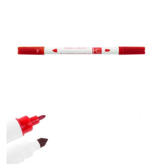 Dvipusis maistinis rašiklis - raudonas