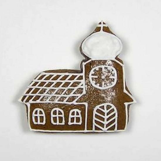 Formelės kalėdiniams sausainiams: žvaigždutė, žuvytė, bažnyčia, 3 vnt.