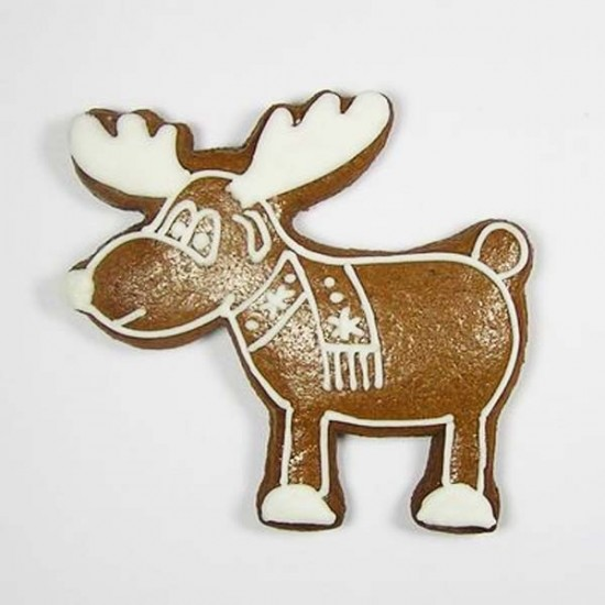 """Formelė imbierinukams ir kitiems sausainiams """"Kalėdinis elnias"""", 6,5 cm"""