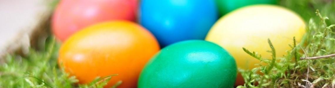 Kiaušinių dažymas maistiniais dažais