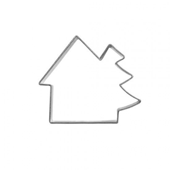 """Formelė """"Namukas su eglute"""", 7,0 cm"""