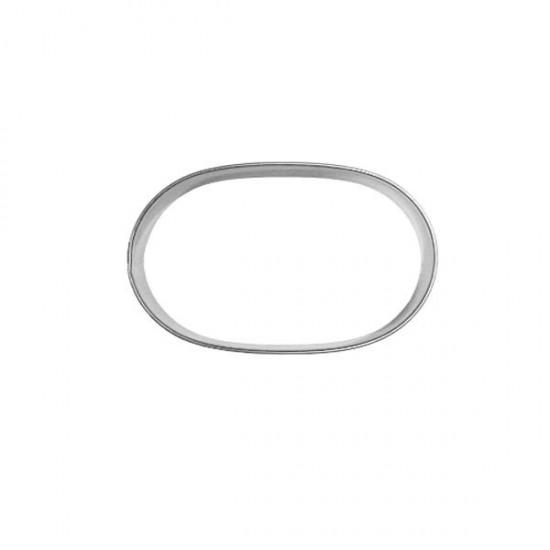 """Formelė """"Ovalas"""", 4,9x2,9 cm"""