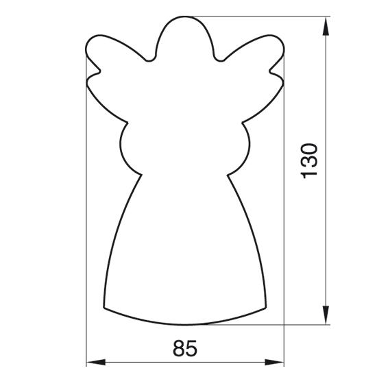 """Formelė meduoliams """"Angeliukas"""", 13 cm"""