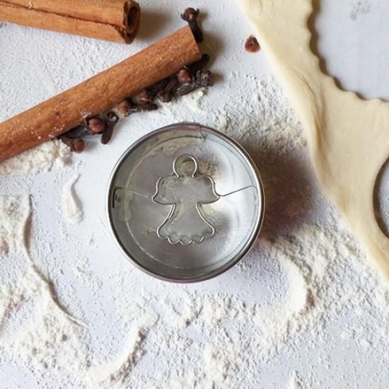 """Formelė sausainiams su skylute """"Angeliukas"""", Ø 4,0 cm"""