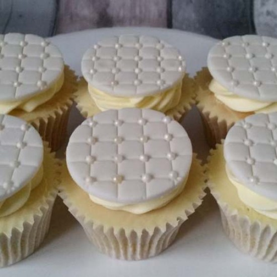 Cukriniai perlai baltos spalvos, 60 g