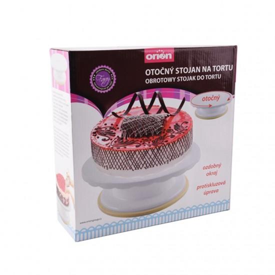 Sukamas padėklas tortams dekoruoti, Ø 28,0 cm