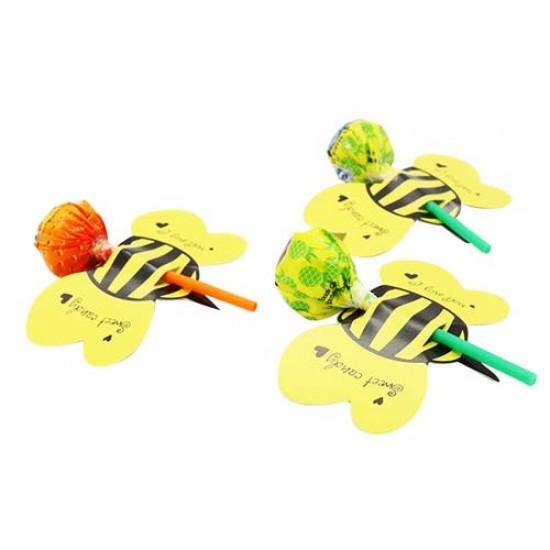 """Kortelės pagaliukams """"Bitės"""", 10 vnt."""