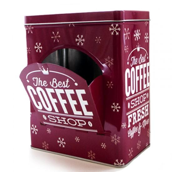 Dėžutė kavos kapsulėms, arbatai, sausainiams