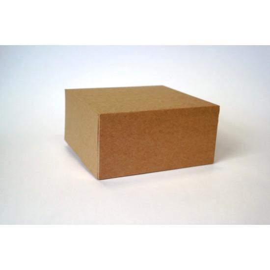 Dėžutės keksiukams, 2 vnt., 16x16x8 cm
