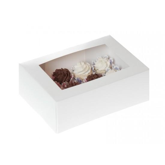 Dėžutės pyragaičiams, 4 vnt. 15,0x9,0x7,0 cm