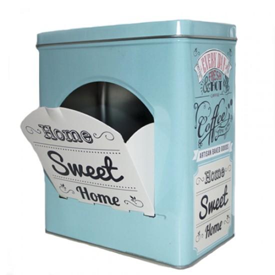 Dėžutė arbatai, sausainiams, saldainiams