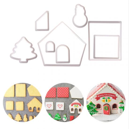 Formelės kalėdiniam nameliui