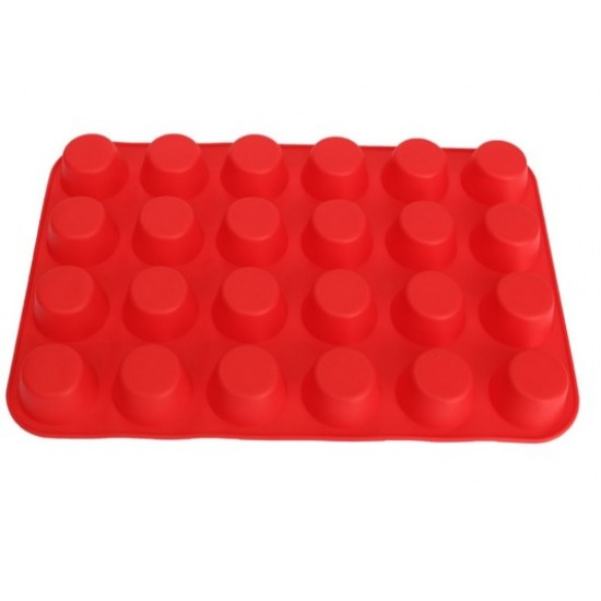 "Silikoninė kepimo forma ""Mini keksiukai"", 24 vnt.,Ø 4,4 cm"