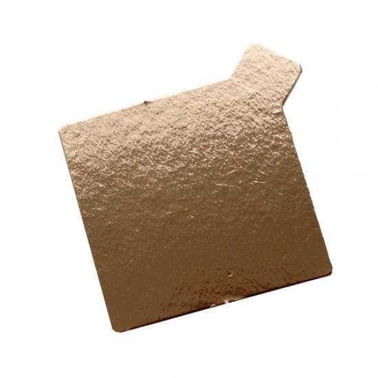 Padėkliukas su ausele, 7,5x7,5x0,1 cm