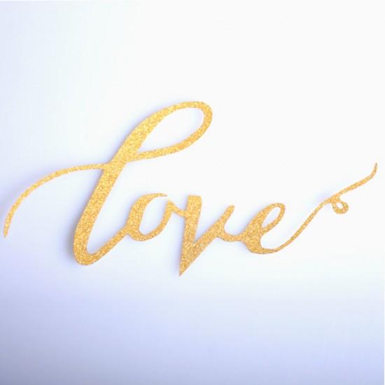 "Smeigtukas dekoravimui ""Love"""