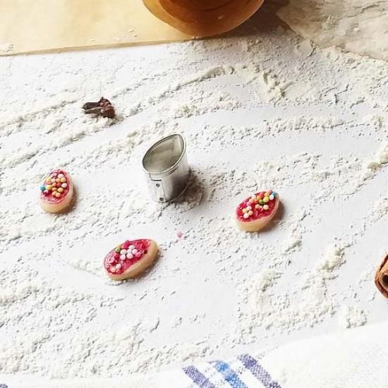 """Formelė """"Kiaušinis"""" mini sausainiams, 2,1 cm"""