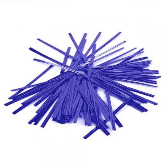 Mėlynos juostelės maišelių užrišimui, 25 vnt.