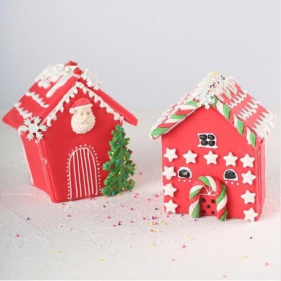 Kalėdinio namelio išpjovikliai
