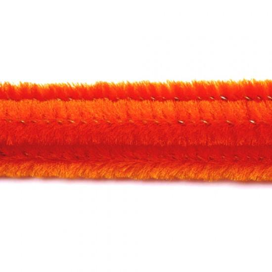 Oranžinės vielutės, 10 vnt.