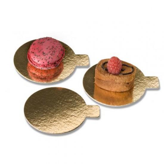 Padėkliukas desertui su ausele, 1 vnt., Ø 8 cm