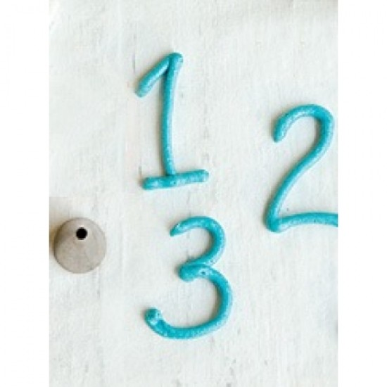 Apvalus antgalis, Ø 0,4 cm
