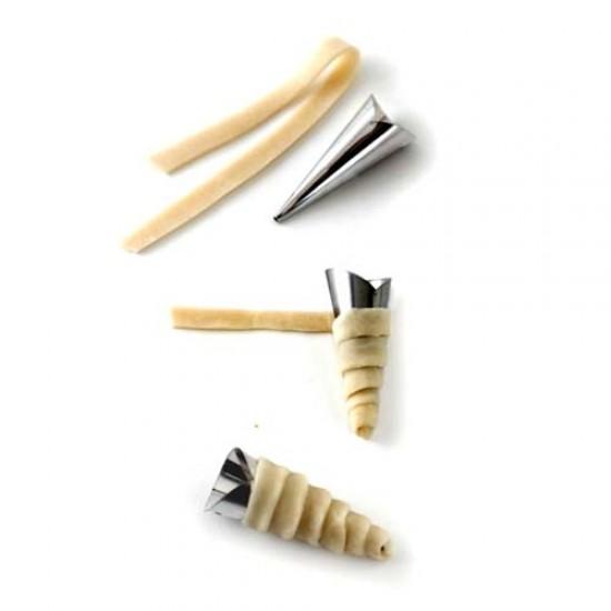 Smailūs vamzdeliai rageliams, 3 vnt., 13,5 cm