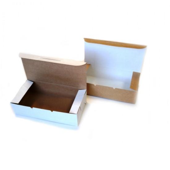 Dėžutės kepiniams, 5 vnt. 21,7x11,0x5,8 cm
