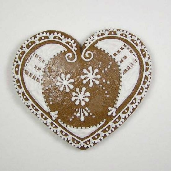 """Formelė meduoliams """"Širdelė"""", 10 cm"""