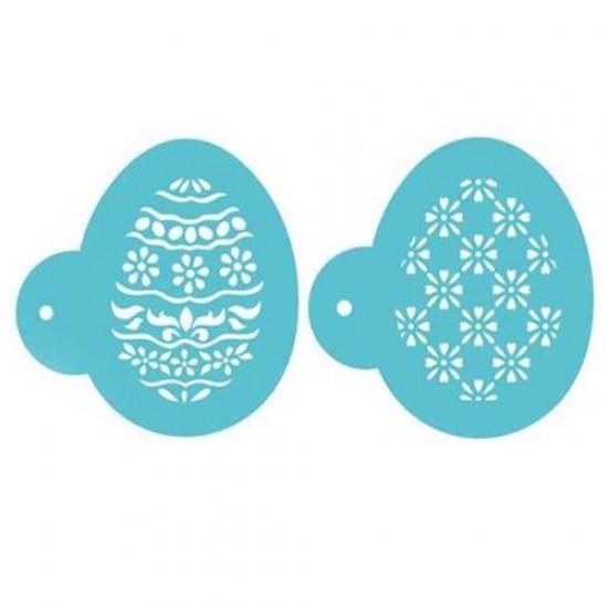 """Trafaretai """"Kiaušiniai"""", 2 vnt."""