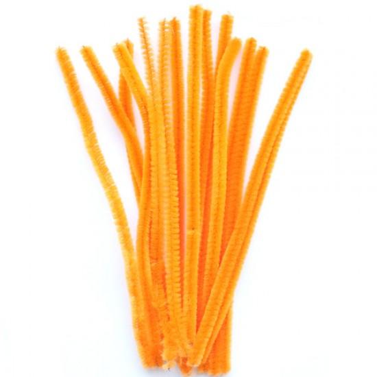 Oranžinės spalvos vielutės, 10 vnt.