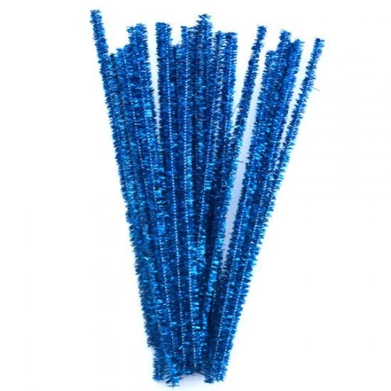 Blizgančios mėlynos vielutės, 10 vnt.
