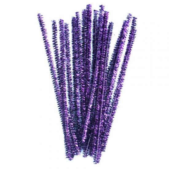 Blizgančios violetinės vielutės, 10 vnt.