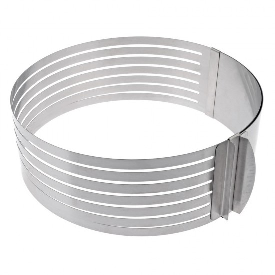 Žiedas biskvitui pjaustyti, Ø 26-31 cm, h 8,5 cm
