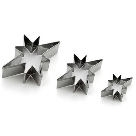 """Formelės """"Žvaigždučių rinkinukas"""",nuo 7,7x5,7 cm iki 2,3x1,7 cm"""