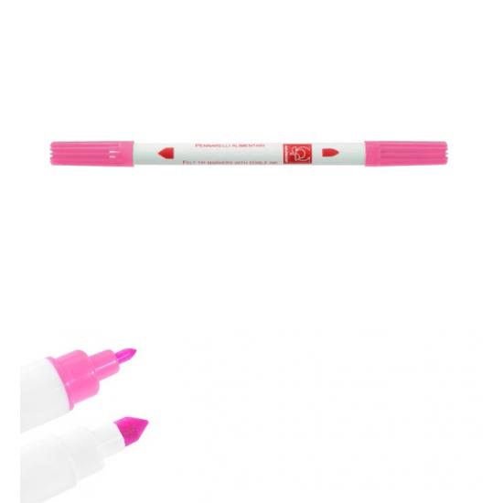Dvipusis maistinis rašiklis - rožinis
